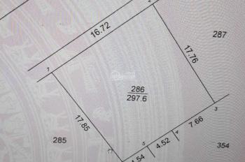 Bán 300m2 đất phân lô khu dịch vụ cụm công nghiệp Vĩnh Lộc - Thạch Thất - Hà Nội với giá 12 tỷ