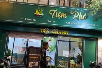 Cho thuê cửa hàng mặt phố Thái Thịnh vị trí đắc địa 85m2 MT 7.5m, giá 33tr. LH: 090 482 6482