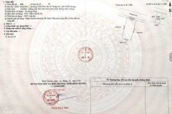 Nền biệt thự 220m2 giá 27.9tr/m2, KDC Vĩnh Phú 1 - Thuận An, Bình Dương