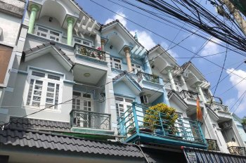 Nhà 1T3L Hẻm 6m 4x14m ngã tư Gò Mây - Bình Hưng Hòa