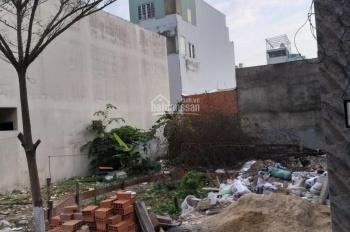 Đất ở đô thị hẻm nhựa thông một xẹt 6m gần chợ Lê Văn Quới, 4x23m, giá 5,6 tỷ