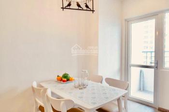 Cần bán căn hộ MT Viễn Triều 2 phòng ngủ giá rẻ chỉ 1 tỷ 170, view xéo biển, full nội thất, bao phí