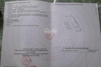 Kẹt tiền bán gấp đất Phú Thọ, TP. Thủ Dầu Một, Bình Dương. DT: 8,5x26=213m2 thổ cư 50m2 giá 2,15 tỷ
