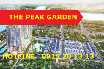 The Peak Garden Căn 2PN,3PN 65-101m2, Tặng 3 Chỉ Sjc, Cam kết Mua Lại, 46tr/m2
