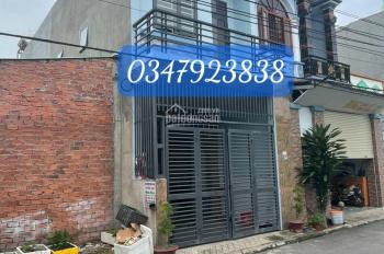 Bán căn nhà 1 trệt 1 lầu cực đẹp ngay phường Tân Bình TP Dĩ An, đường nhựa 7 mét giá 2,4 tỷ