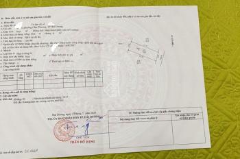Chính chủ gửi bán nhà 03 tầng trong ngõ phố Hoàng Diệu, ngay chợ Cẩm Thượng. Liên hệ: 0944868789