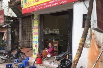 Cho thuê tầng 1 nhà phố Tam Trinh, phù hợp kinh doanh