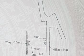 Bán nhà mới 1 lầu trục chính hẻm 117 bờ kè Hoàng Văn Thụ,P.An Cư,Ninh Kiều,Cần Thơ