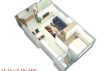 Chính chủ bán căn hộ Eco Dream, dt 46m2, 1PN, đã có sổ đỏ