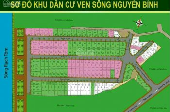 Cần bán đất nền khu dân cư ven sông Nguyễn Bình 80m2 giá 31tr/m2