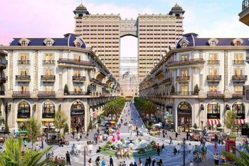 Phối cảnh dự án Vạn Phúc City