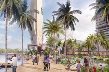 Phối cảnh dự án The Saigon RiverFront