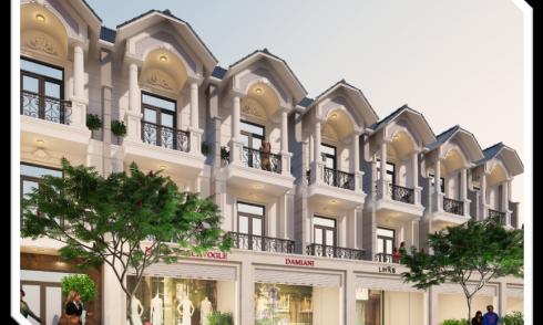 Nhà phố Cite Damour