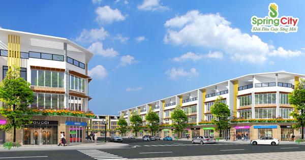 Spring City Bình Dương - dự án mở bán với giá 1.3tr/m2
