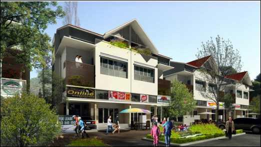 Nhà phố KĐTM Phú Cường