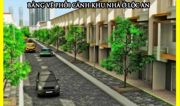 Khu nhà ở Lộc An
