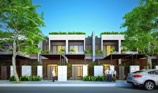 Nhà phố Huế Green City