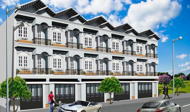 Nhà phố thương mại Phú Xuân 2