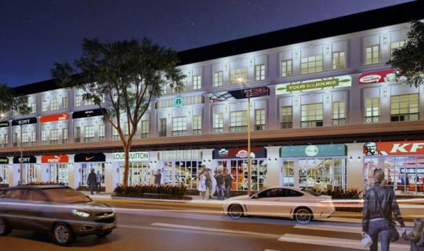 Nhà phố thương mại Thăng Long Home Hiệp Phước