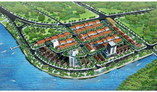 Khu nhà ở Thương mại Đức Ninh Đông