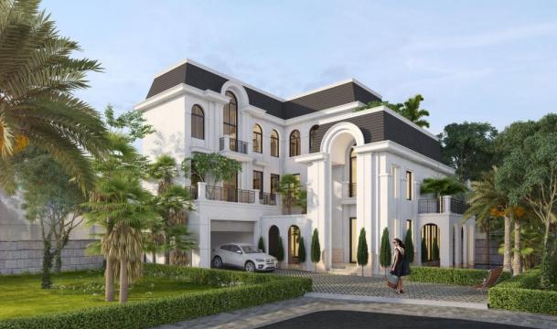 Biệt thự đơn lập Crown Villas