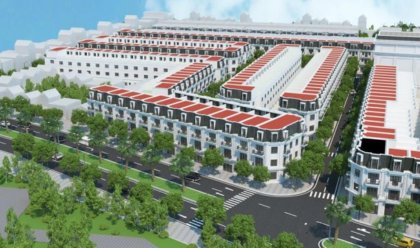 Nhà phố Việt Phát South City