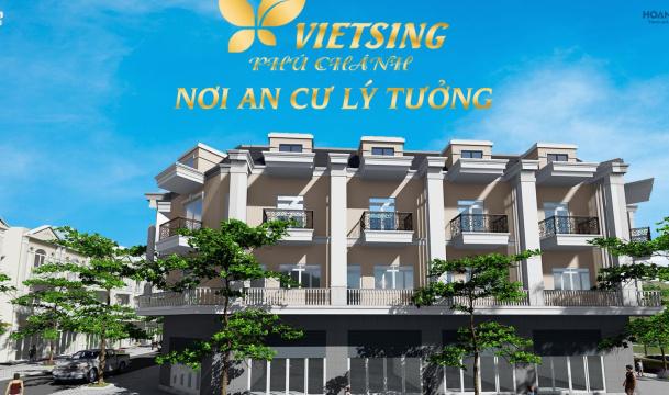 Khu nhà ở VietSing - Phú Chánh