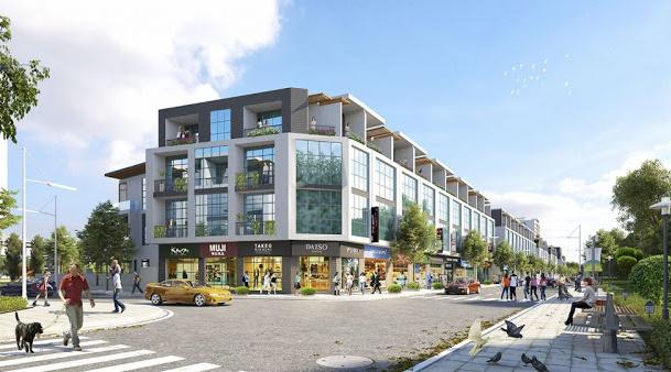 Shophouse TMS Grand City Phúc Yên