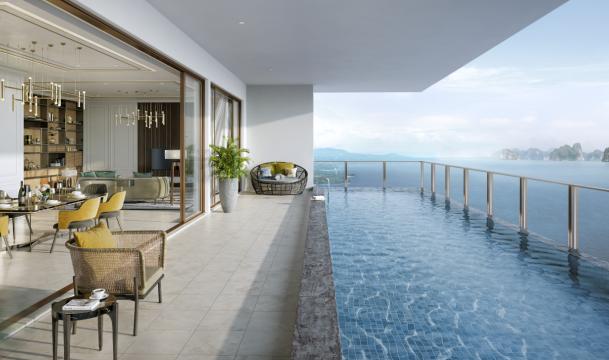 Căn hộ nghỉ dưỡng Vịnh Đông - Sky Residences