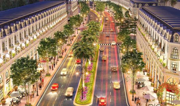 Khu đô thị Phố chợ Phú Khương