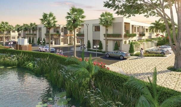 Nhà phố Taka Garden Riverside Homes