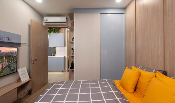 Căn hộ 2 phòng ngủ + 1 mẫu