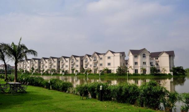 Khuôn viên Vinhomes Riverside