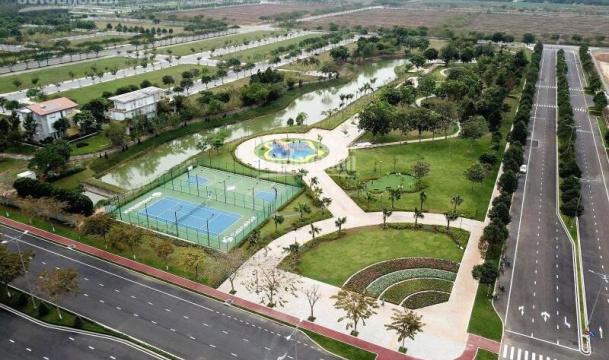 Hình thực tế khu đô thị Swan Park
