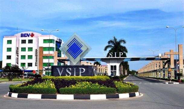 Hình ảnh thực tế VSIP I Bình Dương