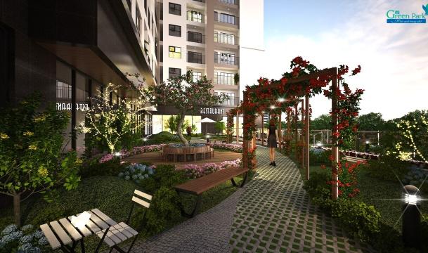 Phối cảnh dự án Green Park