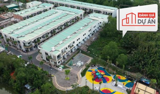 Đánh giá dự án Taka Garden Riverside homes
