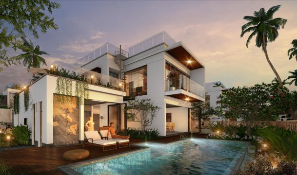 Biệt thự Aria Vũng Tàu Hotel & Resort