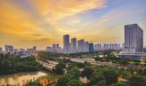 Khu đô thị Phú Mỹ Hưng thực tế