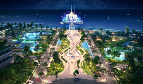 Phối cảnh Thanh Long Bay
