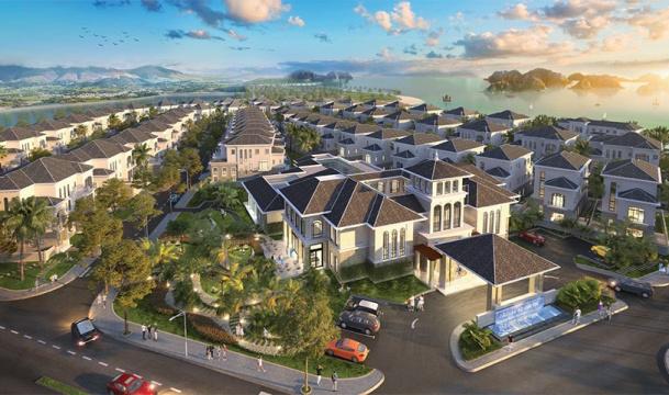Phối cảnh Sailing Club Residences Hạ Long Bay