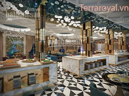 Chủ đầu tư Intresco cho thuê khu thương mại văn phòng FoodCourt - nhà hàng DA Terra Royal Quận 3