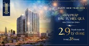 Căn hộ Grand Manhattan 2PN cam kết cho thuê 24 tháng, thanh toán 3 tỷ trong 28 tháng, 0906 09 1249