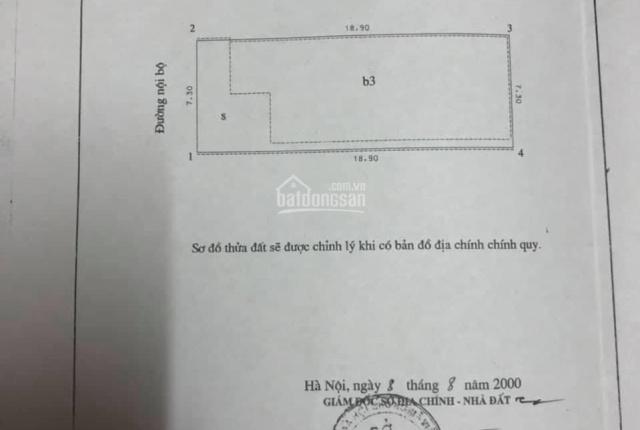 Chính chủ cần bán nhà số 15 ngõ 52 Giang Văn Minh, Đội Cấn, Ba Đình, Hà Nội 36 tỷ