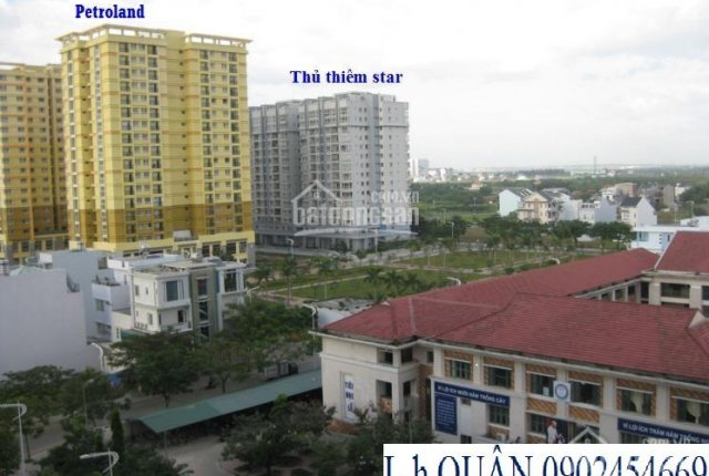 Cần bán chung cư Thủ Thiêm Star, view biệt thự căn góc 0902454669