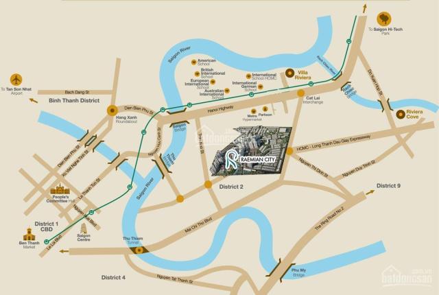 Laimian City - Căn hộ cao cấp mặt tiền Lương Định Của, Quận 2 - LH 0939736359