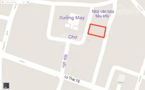 Bán lô đất 2 mặt tiền (cạnh chợ) (tiểu khu 5 -phường Đồng Sơn - Đồng Hới)