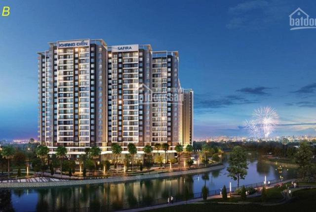 Chính chủ bán 2 căn hộ Safira Khang Điền Q.9, 1PN, 2PN, view hồ bơi 1000m2, chỉ1.59 tỷ 0914.538.498