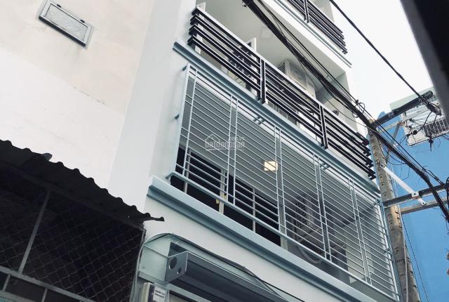 Nhà mới 5 tầng Bình Thạnh giáp Phú Nhuận vào ở ngay