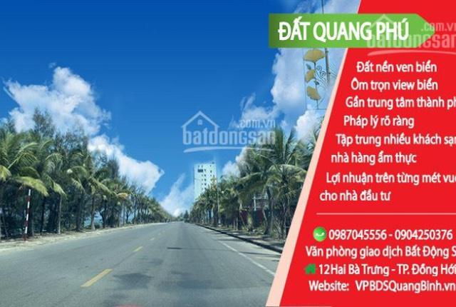 Đất biển Quang Phú - hai mặt tiền siêu đẹp